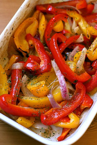 Slow cooked sweet peppers 1