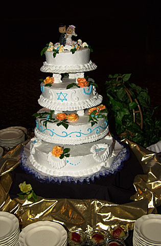 20 Our wedding cake