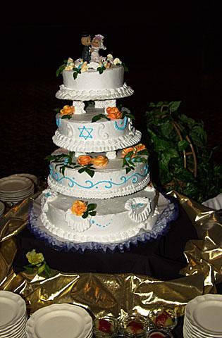 20 Our wedding cake