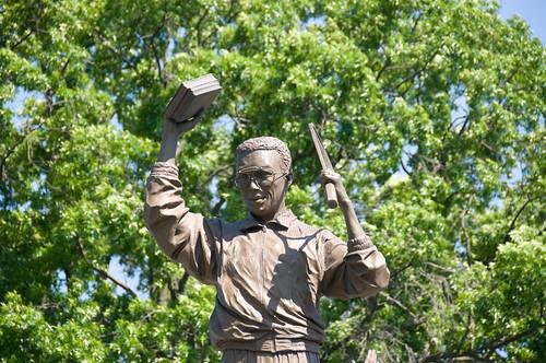 Arthur Ashe Monument Statue