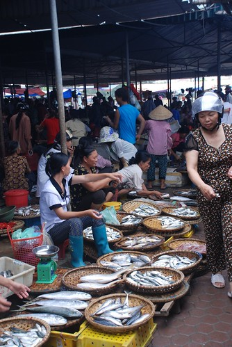 Cua Lo market
