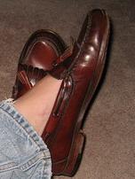 Loafers inga strumpor
