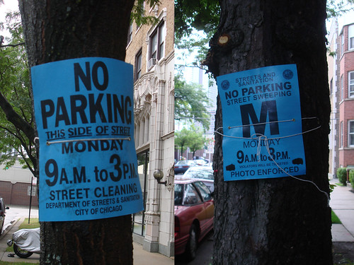 New No Parking Signs