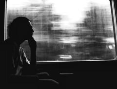 Not Conditioned Vagon - Self Portrait (Mohav [Trafficante di Sarde]) Tags: selfportrait silhouette raw digitale profile nikond100 autoritratto treno caldo goldenheart profilo ferrovieitaliane tamron1935mm anawesomeshot ritrattidiof goldenheartaward