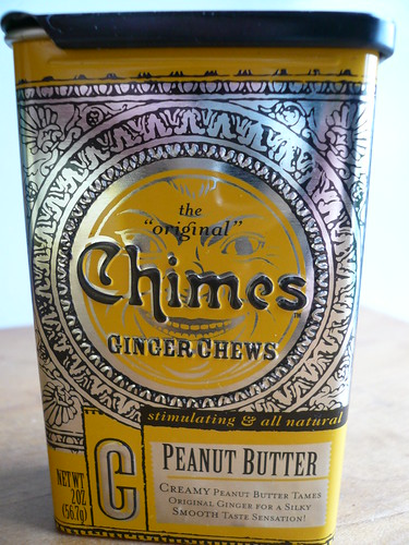 Ginger Chews - peanut butter
