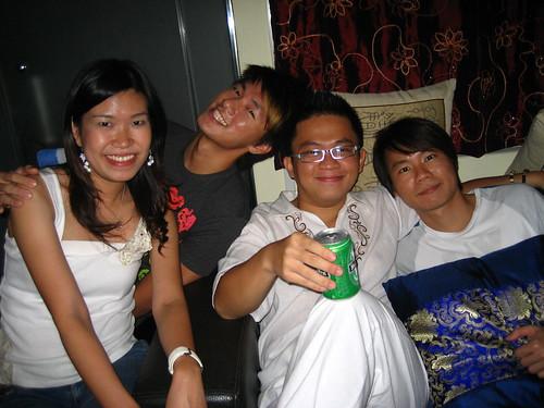 Eileen, Sean, me and Lenz