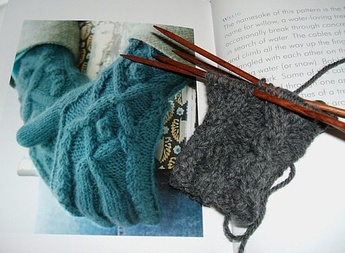 Welig Gloves with Book