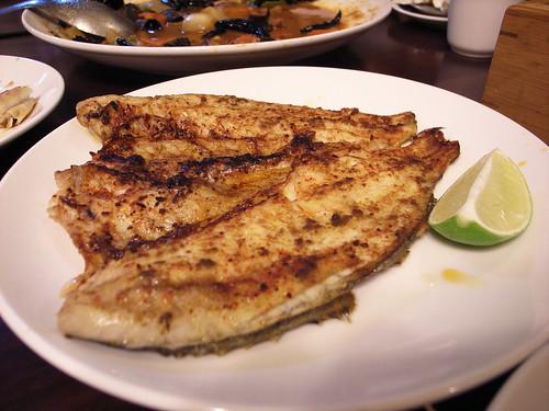 帕米爾新疆餐廳:塔里木烤魚