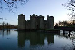 Bodiam Castle in Kent