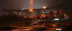 Blurry Bird's Nest (EdZa) Tags: beijing olympics 2008 birdsnest nationalstadium summerolympics beijingolympics