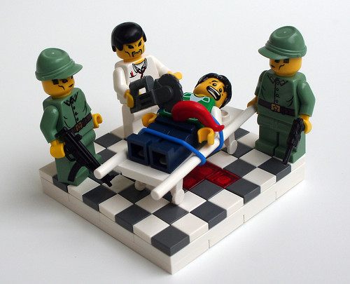 Flickr Lego photo of Organ Harvesting