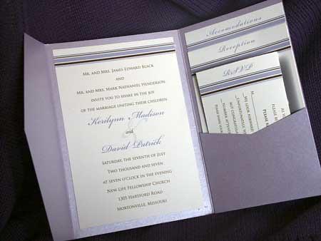 Grace Kelly Wedding Invitation