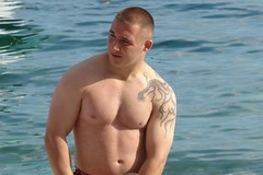 Macedonian beefcake (CharlesFred) Tags: shirtless man male men europa europe european macedonia ohrid balkans balkan eropa avrupa evropa macedonian handsomemen balcani eurooppa balcanica lakeohrid  southeasteurope  ballkan   balkanhalbinsel  beachohrid   yurub  ballkanik ovejebalkan thisisthebalkans achainofwoodedmountains haemus