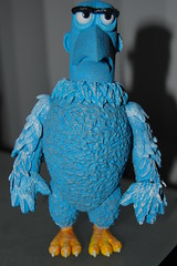 Sam The Eagle - 365 Toy Project - 77/365 (Lunchbox Photography) Tags: blue america toy actionfigure sam eagle action muppets figure 365 patriot muppet palisades muppetshow pallisades d40 samtheeagle