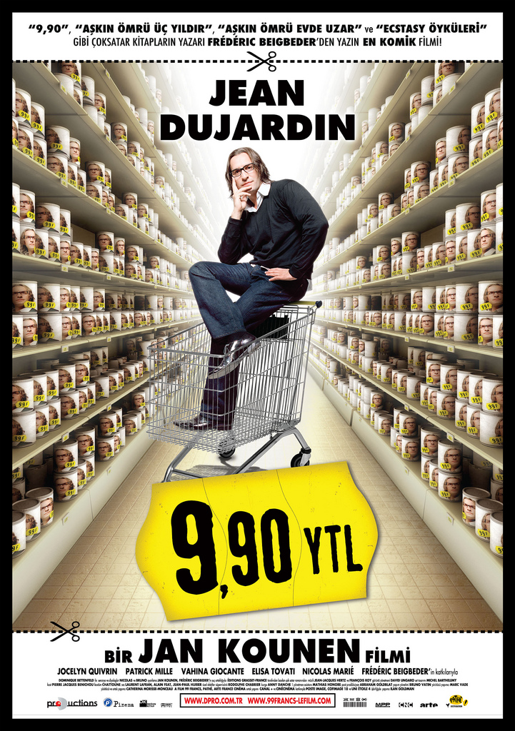 99 Francs poster película