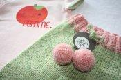 'Pomme Pomme' BFL Longies & T-shirt Set - med