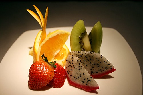 Seasonal fruits, part of set
