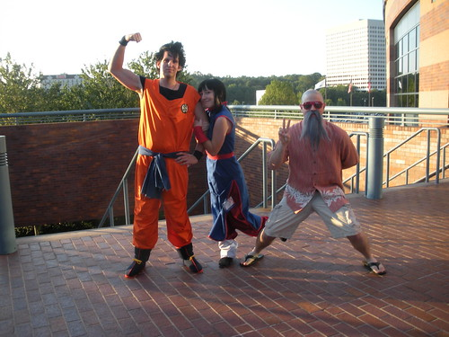 Dragon Ball Son Gokū Cosplay
