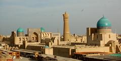 View of Bukhara from the Ark (twiga_swala) Tags: citadel minaret miri grand mosque arab poi kalyan ark uzbekistan bukhara kalan madrassah   masjidi kaln minrai
