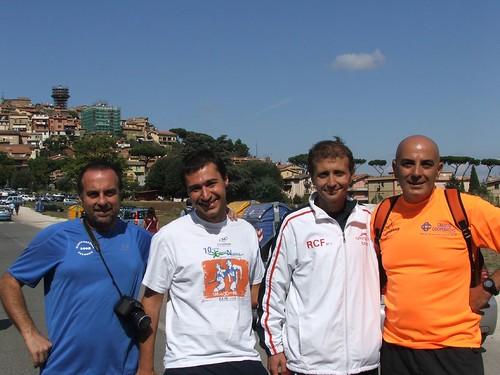 Giampy - Mathias - Giorgio - Ezio a Colonna