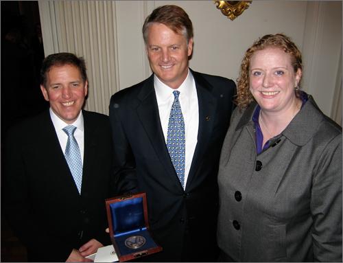 Scott Murray, John Donahoe, Nora Grasham