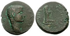 CYPRUS, Koinon of Cyprus. Tiberius, with Julia Augusta (Livia). AD 14-37.  23mm (8.51 g, 12h). (Joe Geranio) Tags: rome roma art archaeology coin all roman coins joe caesar julio classics imperial livia claudio julius nero courtesy iconography augustus association augusto romanart tiberius texts claudius geranio romancoins imperator agrippina ancientrome caligula neron romanemperor ancientroman romansculpture nerone iconographic romanmuseum tiberio classicalart 1stcenturyad anticaroma bildnis princeps iconographie poppaea messalina julioclaudian claudian imperialrome firstcenturyad caligola earlyimperialperiod joegeranio romaniconography romannumismatics celator bildnisdesaugustus ancientromanperson romanimagery desbildnisse romanepigraphy diebildnisse ancientromanportraiture julioclaudianiconographicassociation cngcoinscom