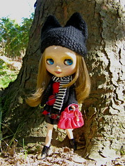 Hibou in her new outfit