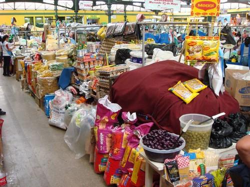 Market in Cochabamba, Bolivia.