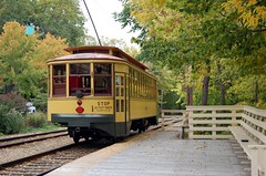 Trolley in Linden Hills