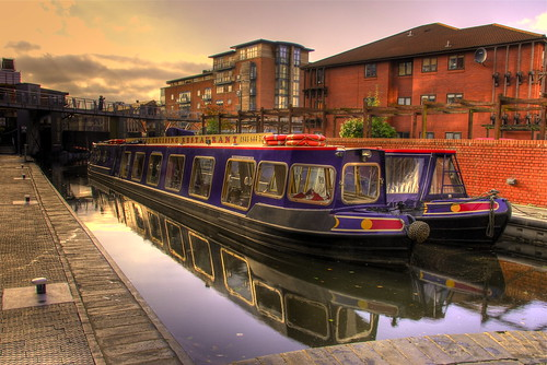 Barges on the Birmingham Canal by slack12 on flickr (click picture for original)