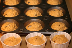 Pumpkin Muffins (Dorie Greenspan)
