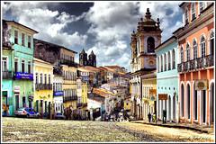 Pelourinho / Salvador / Brasil (Facu551) Tags: city brazil brasil capital ciudad bahia salvador hdr pelourinho cruzadas 5photosaday golddragon impressedbeauty