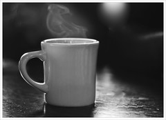 Wake Up And Smell The Coffee (fotoJENica) Tags: morning hot cup coffee breakfast cafe nikon beverage steam taza caliente cafeconleche hotcoffee jennyromney httpwwwblackandwhitedigitalcomconvertluminosityhtml httpwwwgormanphotographycombwconversionpdf