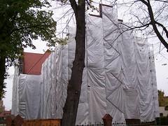Alte Schule verhangen