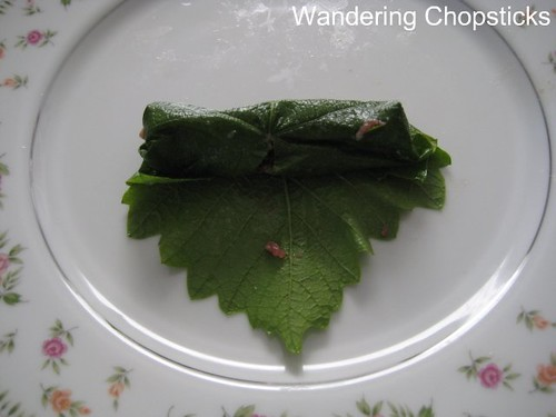 Bo Nuong La Nho (Vietnamese Grilled Beef-Stuffed Grape Leaves) 5