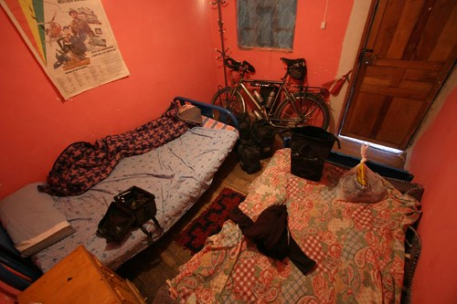 My little room in San Tiquina, Bolivia.