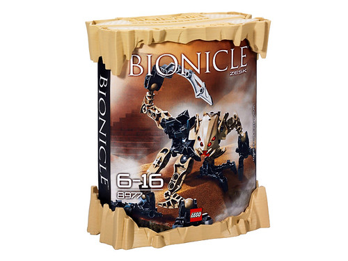 Bionicle zesk 8977 box by leggymclego.
