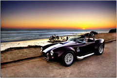 A Ride for Valpopando (Extra Medium) Tags: ocean sunset malibu grazie shelbycobra accobra fordcobra hdrcars califorornia cobrareplica hdrautos professionalcarphotos professionalcarshoot vcfair09