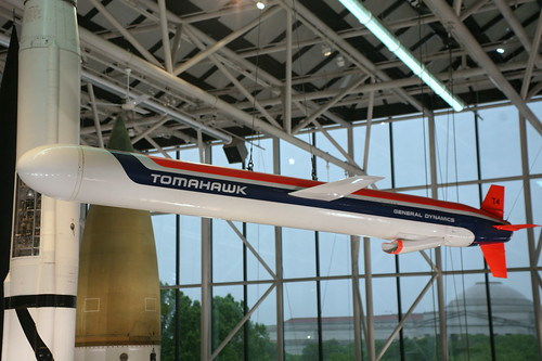 Tomahawk BGM-109 Cruise Missile, Ship-launched,