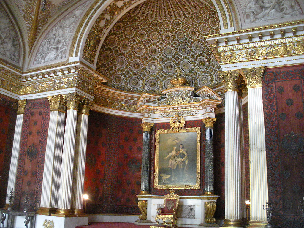 The Peter the Great (Small Throne) Room