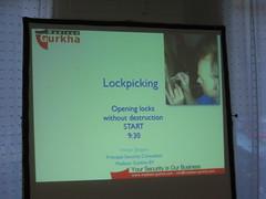 Lockpicking @hack.lu