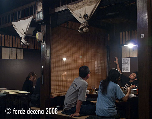 Dining Japanese Style