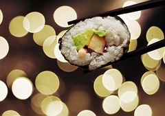 Sushi (koinis) Tags: food japan canon john wednesday sushi asian happy 50mm asia bokeh explore most getty 18 frontpage viewed sushiroll hbw koinberg koinis goobama
