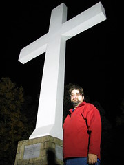 Self Portrait @ Sewanee's Memorial Cross