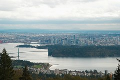 Vancouver from Cypress Mountain (timbarton) Tags: vancouver downtown britishcolumbia stanleypark lionsgatebridge rawconversion