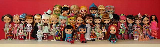 Doll Family - Group photo of November 2008
