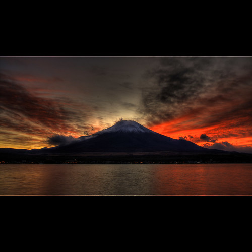 Mount Fuji @ Sunset
