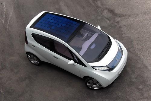 Pininfarina B0 Solar Panels