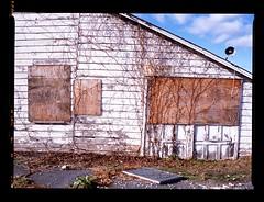 (andre dos santos) Tags: newyork abandoned 120 6x6 film mediumformat square 645 fuji suburban decay empty suburbia slide 120film chrome squareformat fujifilm boardedup medium format suburbs 6x45 provia nyack decaying provia100f rockland hudsonvalley 100f 100iso pentax645 westnyack