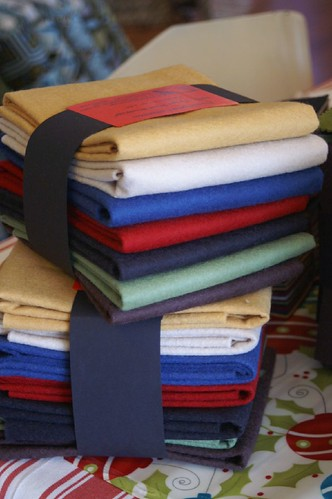 Wool Felt Fat Quarters